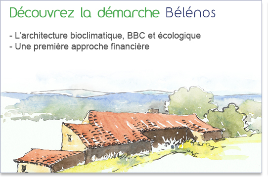 B l nos maison cologique auvergne construction de maison cologique et bioclimatique en auvergne for Demarche construction maison