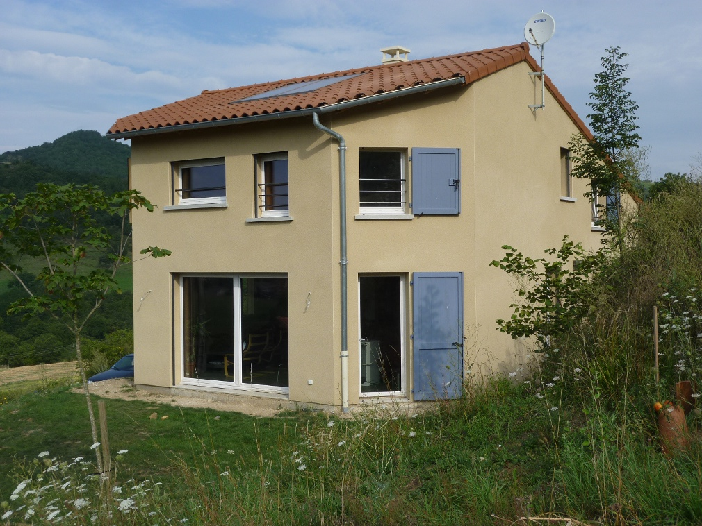 B l nos maison cologique r f rences en terme de for Construction maison bioclimatique